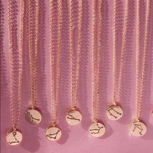 Aries Zodiac Sign Pendent Necklace